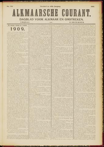 Alkmaarsche Courant 1909-12-31
