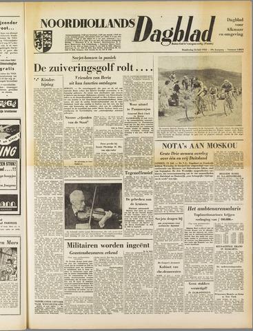 Noordhollands Dagblad : dagblad voor Alkmaar en omgeving 1953-07-16