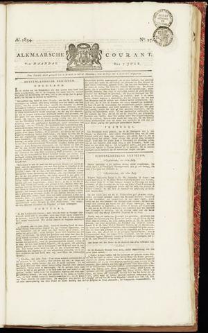 Alkmaarsche Courant 1834-07-07