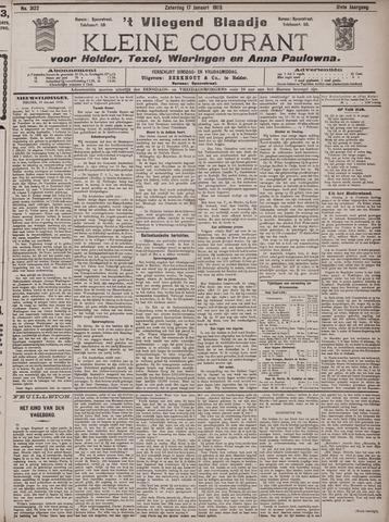Vliegend blaadje : nieuws- en advertentiebode voor Den Helder 1903-01-17
