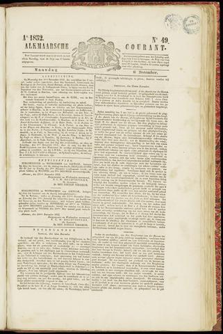 Alkmaarsche Courant 1852-12-06