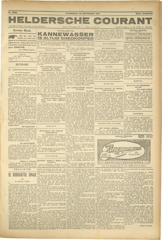 Heldersche Courant 1927-09-22