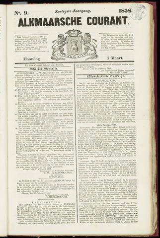 Alkmaarsche Courant 1858-03-01