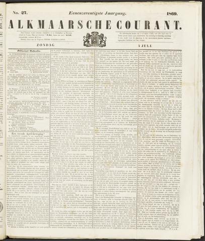 Alkmaarsche Courant 1869-07-04