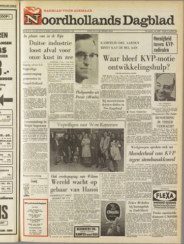 Noordhollands Dagblad : dagblad voor Alkmaar en omgeving 1967-11-17