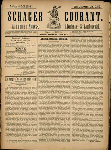 Schager Courant 1888-07-08