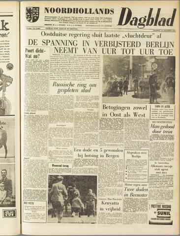 Noordhollands Dagblad : dagblad voor Alkmaar en omgeving 1961-08-14