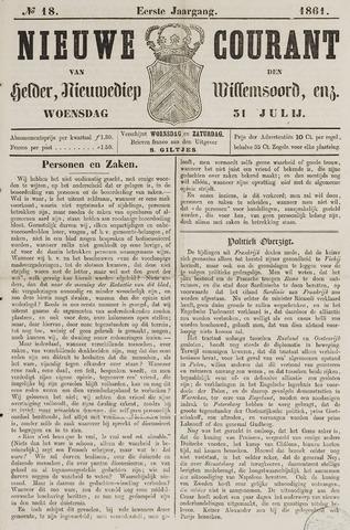 Nieuwe Courant van Den Helder 1861-07-31