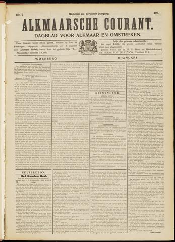 Alkmaarsche Courant 1911-01-11