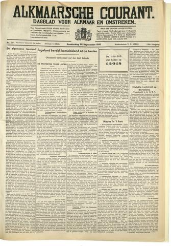 Alkmaarsche Courant 1937-09-30