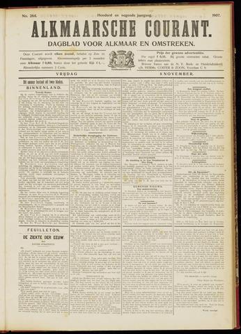 Alkmaarsche Courant 1907-11-08