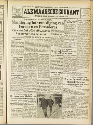 Alkmaarsche Courant 1955-01-25