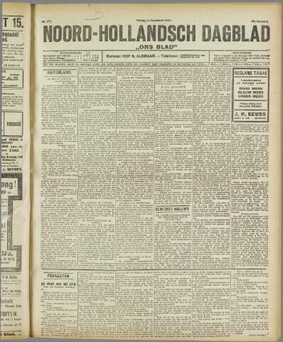 Ons Blad : katholiek nieuwsblad voor N-H 1922-09-15