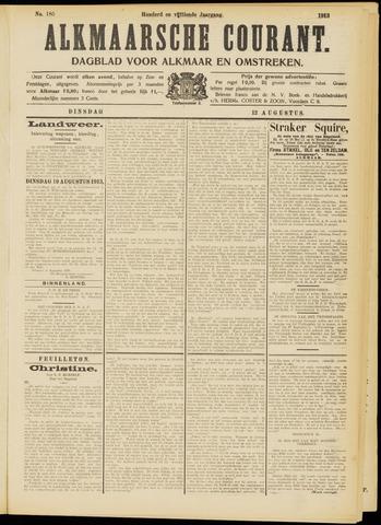 Alkmaarsche Courant 1913-08-12