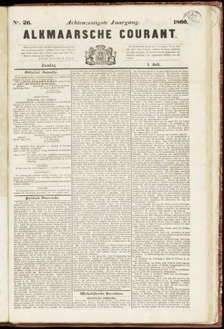 Alkmaarsche Courant 1866-07-01