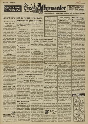 De Vrije Alkmaarder 1950-02-08