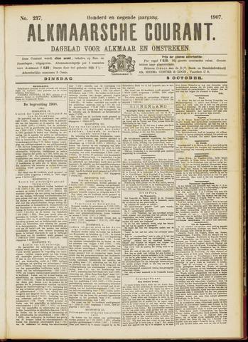 Alkmaarsche Courant 1907-10-08