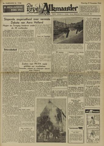 De Vrije Alkmaarder 1949-11-21