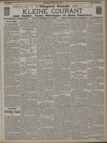 Vliegend blaadje : nieuws- en advertentiebode voor Den Helder 1909-11-20