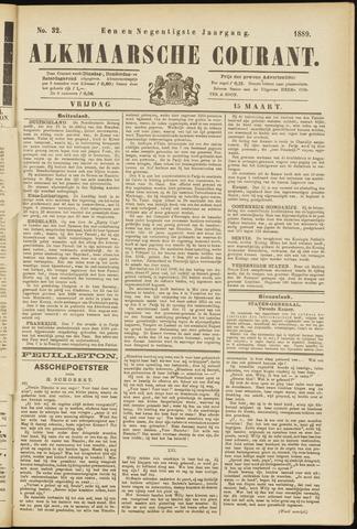 Alkmaarsche Courant 1889-03-15