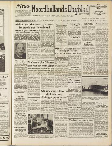 Nieuw Noordhollandsch Dagblad : voor Alkmaar en omgeving 1950-06-24
