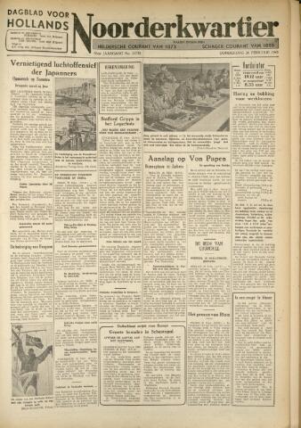 Heldersche Courant 1942-02-26