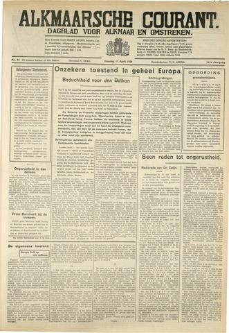 Alkmaarsche Courant 1939-04-11