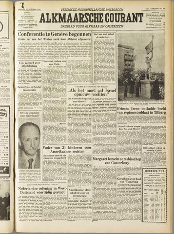 Alkmaarsche Courant 1955-10-28