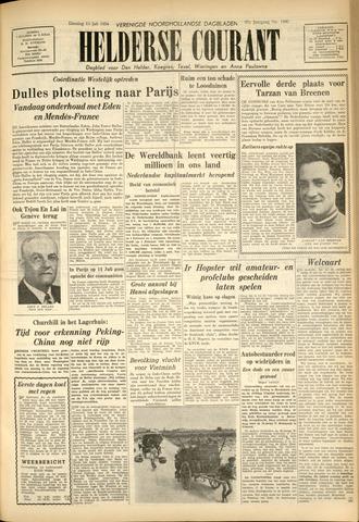 Heldersche Courant 1954-07-13