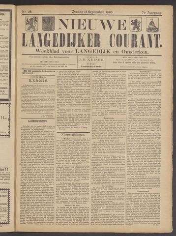 Nieuwe Langedijker Courant 1898-09-18