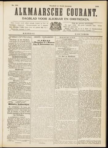 Alkmaarsche Courant 1908-10-19