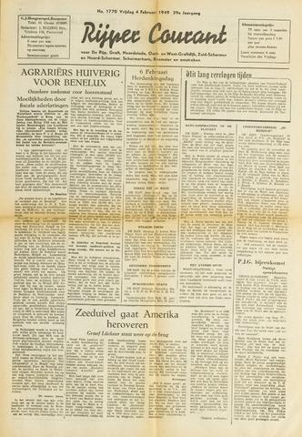 Rijper Courant 1949-02-04