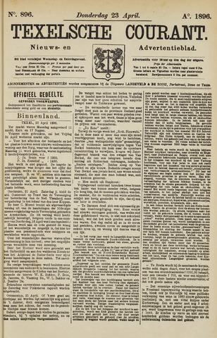 Texelsche Courant 1896-04-23