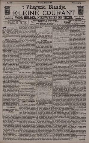 Vliegend blaadje : nieuws- en advertentiebode voor Den Helder 1896-06-24