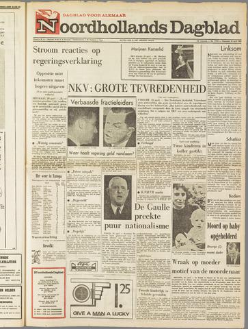 Noordhollands Dagblad : dagblad voor Alkmaar en omgeving 1965-04-28
