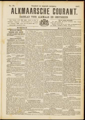 Alkmaarsche Courant 1907-01-22