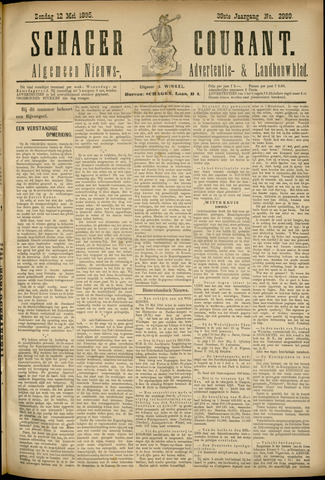 Schager Courant 1895-05-12
