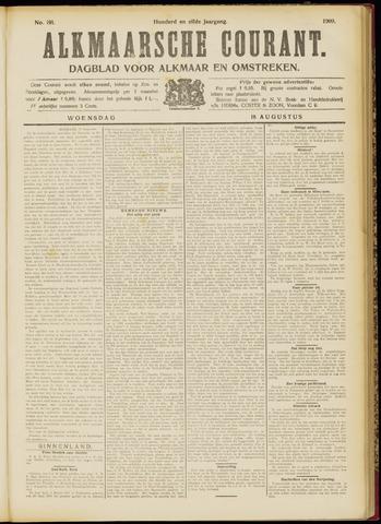 Alkmaarsche Courant 1909-08-18