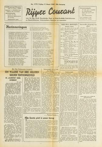 Rijper Courant 1949-03-11