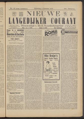Nieuwe Langedijker Courant 1929-10-05