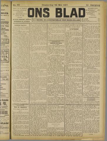 Ons Blad : katholiek nieuwsblad voor N-H 1917-05-24