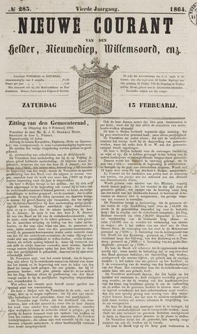 Nieuwe Courant van Den Helder 1864-02-13