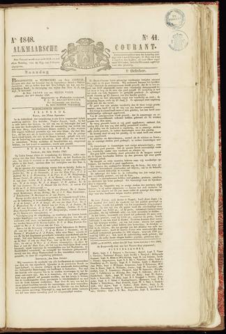 Alkmaarsche Courant 1848-10-09