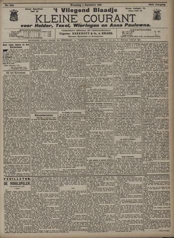 Vliegend blaadje : nieuws- en advertentiebode voor Den Helder 1906-09-05