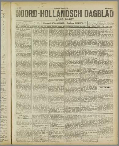 Ons Blad : katholiek nieuwsblad voor N-H 1922-04-13