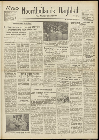 Nieuw Noordhollandsch Dagblad : voor Alkmaar en omgeving 1948-03-13