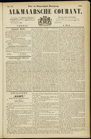 Alkmaarsche Courant 1892-05-06