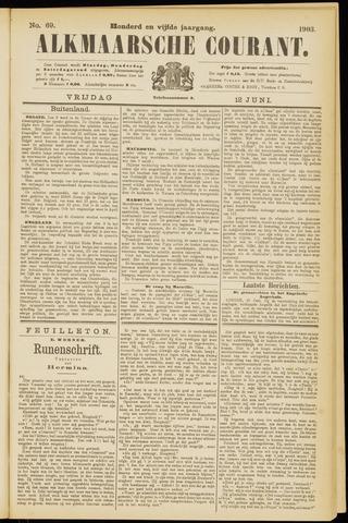 Alkmaarsche Courant 1903-06-12