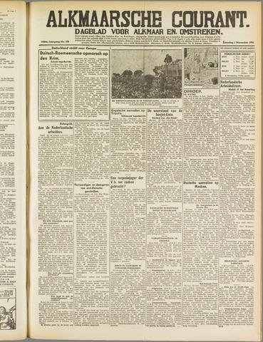 Alkmaarsche Courant 1941-11-01
