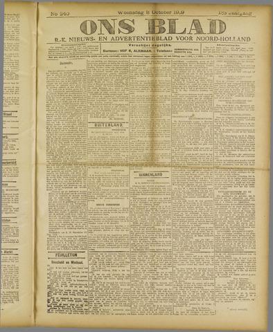 Ons Blad : katholiek nieuwsblad voor N-H 1919-10-08